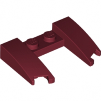 LEGO 6016771 CAPOT 4X3X2/3 - NEW DARK RED