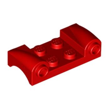 LEGO 4613132 CAPOT 2X4 - ROUGE