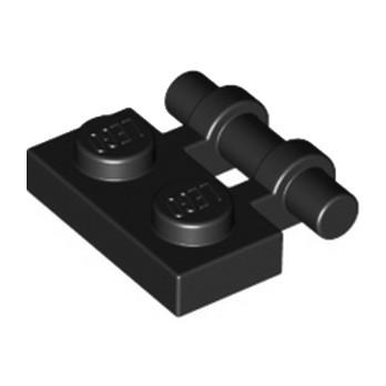 LEGO 4140588 PLATE 1X2 W. STICK 3.18 - NOIR