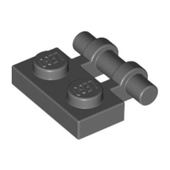 LEGO 4210660 PLATE 1X2 W. STICK - DARK STONE GREY
