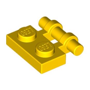 LEGO 254024  PLATE 1X2 W. STICK - JAUNE