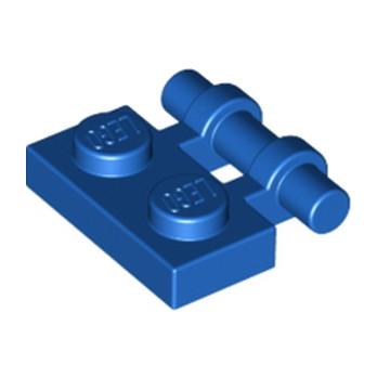 LEGO 254023 PLATE 1X2 W. STICK - BLEU