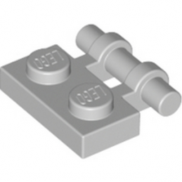LEGO 4211632 PLATE 1X2 W. STICK - MEDIUM STONE GREY