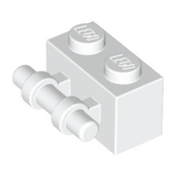 LEGO 4140626 BRIQUE 1X2 / STICK - BLANC lego-4140626-brique-1x2-stick-blanc ici :