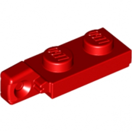 LEGO 4183039 PLATE 1X2 W/STUB VERTICAL/END - ROUGE