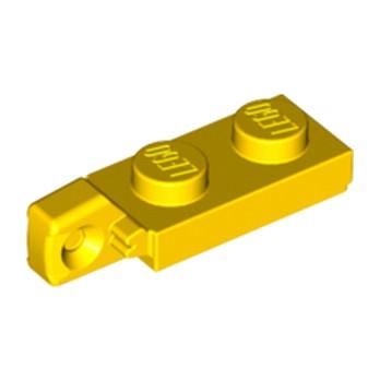 LEGO 4183041 PLATE 1X2 W/STUB VERTICAL/END - JAUNE