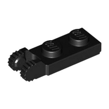 LEGO 4183060 PLATE 1X2 W/FORK/VERTICAL/END - NOIR lego-4183060plate-1x2-wforkverticalend-black ici :