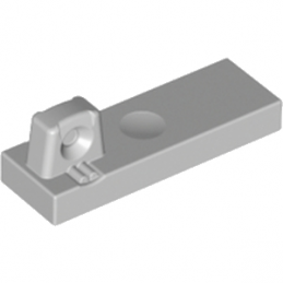 LEGO 4211802 PLATE 1X3 W/STUB/ALONG/U.P. - MEDIUM STONE GREY