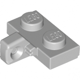 LEGO 4211814 PLATE 1X2 W. STUB/VERTICAL - MEDIUM STONE GREY