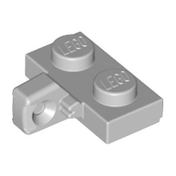 LEGO 6266251 PLATE 1X2 W. STUB/VERTICAL - MEDIUM STONE GREY lego-6266251-plate-1x2-w-stubvertical-medium-stone-grey ici :