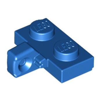 LEGO 4185616  PLATE 1X2 W. STUB/VERTICAL - BLEU lego-6055414-plate-1x2-w-stubvertical-bleu ici :
