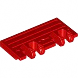 LEGO 4594954 WAGGON SIDE 2X4 W. FORKS - ROUGE