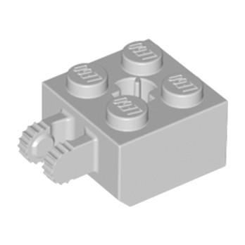 LEGO 4215971 BRIQUE 2X2 FRIC/FORK VERT./END - MEDIUM STONE GREY lego-6093870-brique-2x2-fricfork-vertend-medium-stone-grey ici :
