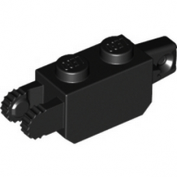 LEGO 3038626 BRIQUE 1X2 FRIC/STUB/FORK VERT. - NOIR