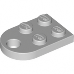 LEGO 4211419 COUPLING PLATE 2X2  - MEDIUM STONE GREY