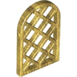 LEGO 4541895 GRILLE - WARM GOLD