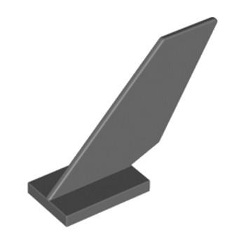 LEGO 4500562 GOUVERNAIL 2X6X4 - DARK STONE GREY lego-4500562-gouvernail-2x6x4-dark-stone-grey ici :