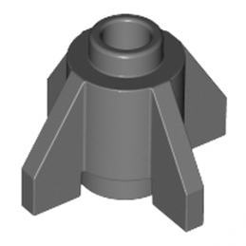 LEGO 4212352  ROCKET STEP SMALL 1X1 - DARK STONE GREY lego-6321195-rocket-step-small-1x1-dark-stone-grey ici :