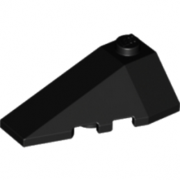 LEGO 4180413 LEFT ROOF TILE 2X4 W/ANGLE - NOIR