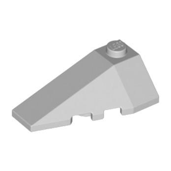 LEGO 4180408 LEFT ROOF TILE 2X4 W/ANGLE - MEDIUM STONE GREY