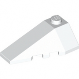 LEGO 4179867 LEFT ROOF TILE 2X4 W/ANGLE - BLANC