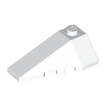LEGO 6106685 LEFT ROOF TILE 2X4 W/ANGLE - WHITE