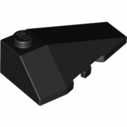 LEGO 4180423 RIGHT ROOF TILE 2X4 W/ANGLE - NOIR