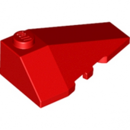 LEGO 4180419  RIGHT ROOF TILE 2X4 W/ANGLE - ROUGE