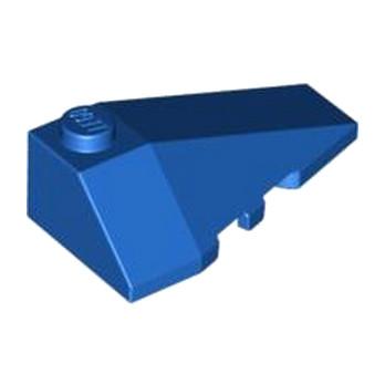 LEGO 4180420  RIGHT ROOF TILE 2X4 W/ANGLE - BLEU