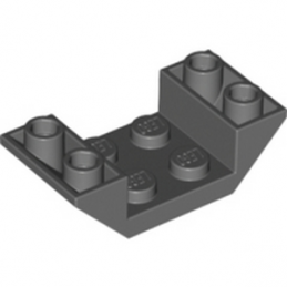 LEGO 4211076 ROOF TILE 2X4 INV. - DARK STONE GREY