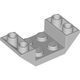 LEGO 4211517 ROOF TILE 2X4 INV. - MEDIUM STONE GREY