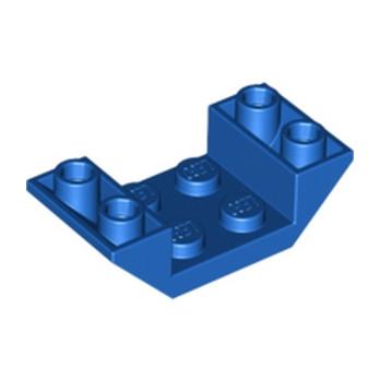 LEGO 487123  ROOF TILE 2X4 INV. - BLEU lego-4656767-roof-tile-2x4-inv-bleu ici :