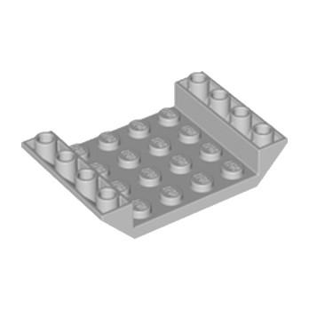 LEGO 4211602 INV. ROOF TILE 4X6, 3XØ4.9 - MEDIUM STONE GREY lego-4549997-inv-roof-tile-4x6-3xo49-medium-stone-grey ici :