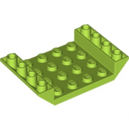 LEGO 6116511 INV. ROOF TILE 4X6, 3XØ4.9 - BRIGHT YELLOWISH GREEN lego-6116511-inv-roof-tile-4x6-3xo49-bright-yellowish-green ici :