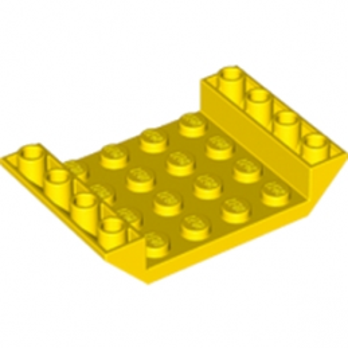 LEGO 4549996  INV. ROOF TILE 4X6, 3XØ4.9 - JAUNE