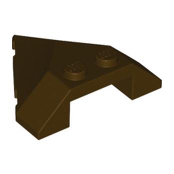 LEGO 6130034  ROOF TILE 4X4 45DEG - DARK BROWN