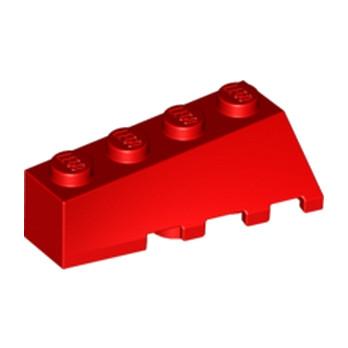 LEGO 4180515 LEFT BRICK 2X4 W/BOW/ANGLE - ROUGE