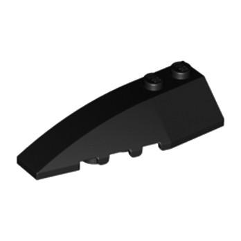 4160130 LEFT SHELL 2X6 W/BOW/ANGLE - Black