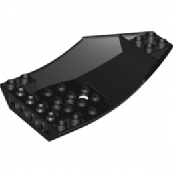 LEGO 4209683  SHELL 6X10X2 INV. - NOIR