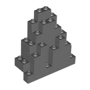 LEGO 4216709 ROCHER MONTAGNE 3X8X7 - DARK STONE GREY