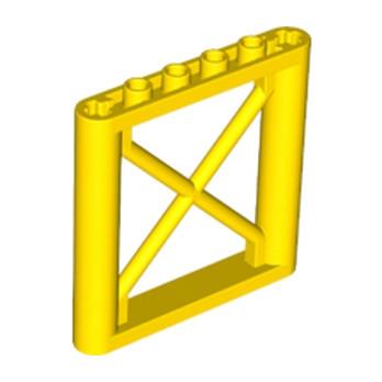LEGO 6057479  ELEMENT DE SOUTIEN 1X6X5 - JAUNE