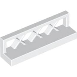 LEGO 4550171 CLOTURE / BARRIERE 1X4X1 - BLANC