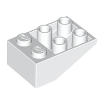LEGO 374701 TUILE 2X3/25° INV. - BLANC