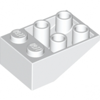 LEGO 374701 TUILE 2X3/25° INV. - BLANC lego-4500469-tuile-2x325-inv-blanc ici :