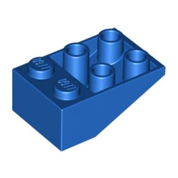 LEGO 374723 TUILE 2X3/25° INV. - BLEU lego-4509443-tuile-2x325-inv-bleu ici :