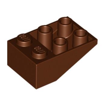 LEGO 4217916 TUILE 2X3/25° INV. - REDDISH BROWN