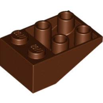 LEGO 4217916 TUILE 2X3/25° INV. - REDDISH BROWN lego-4508616-tuile-2x325-inv-reddish-brown ici :