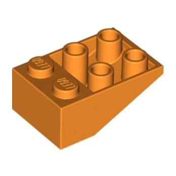 LEGO 4121737 TUILE 2X3/25° INV. - ORANGE lego-4121737-tuile-2x325-inv-orange ici :