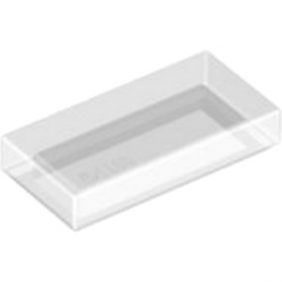 LEGO 4569297 PLATE LISEE 1X2 - TRANSPARENT