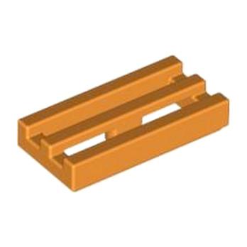 LEGO 4125254 GRILLE 1X2 - ORANGE lego-4125254-grille-1x2-orange ici :